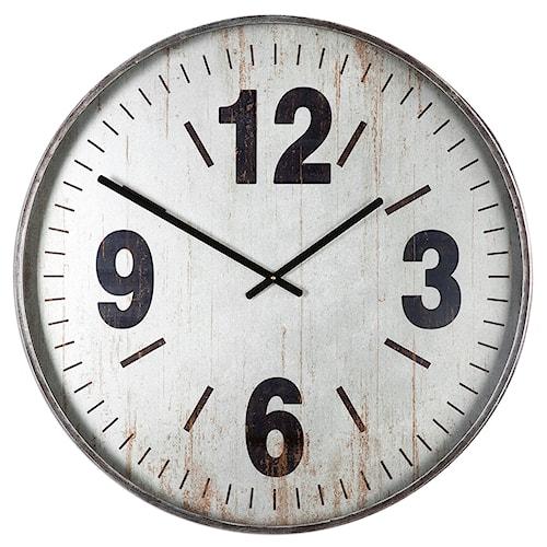 Uttermost Clocks Marino Oversized Wall Clock