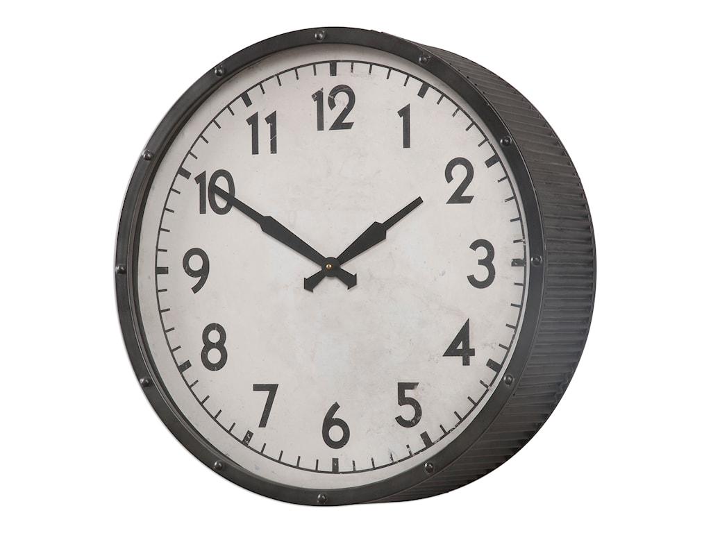 Uttermost ClocksBerta Ivory Wall Clock