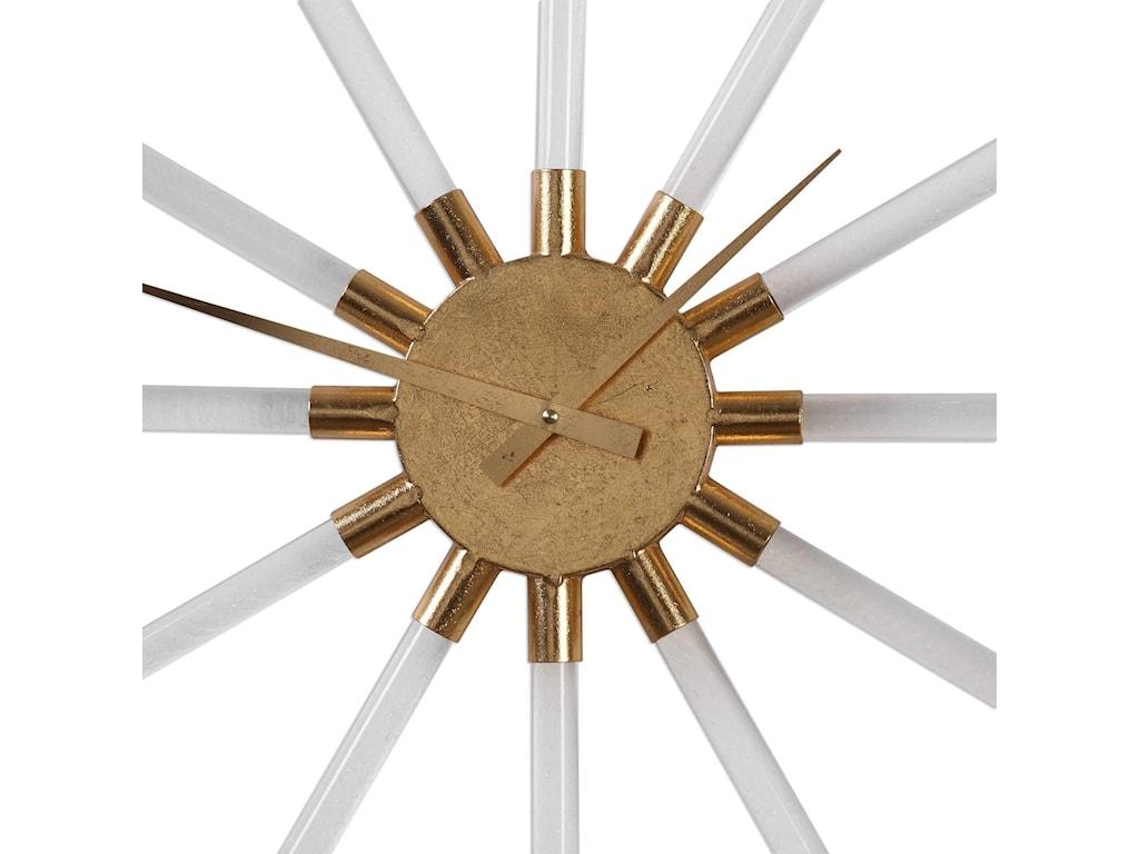 Uttermost ClocksKyota Gold Wall Clock