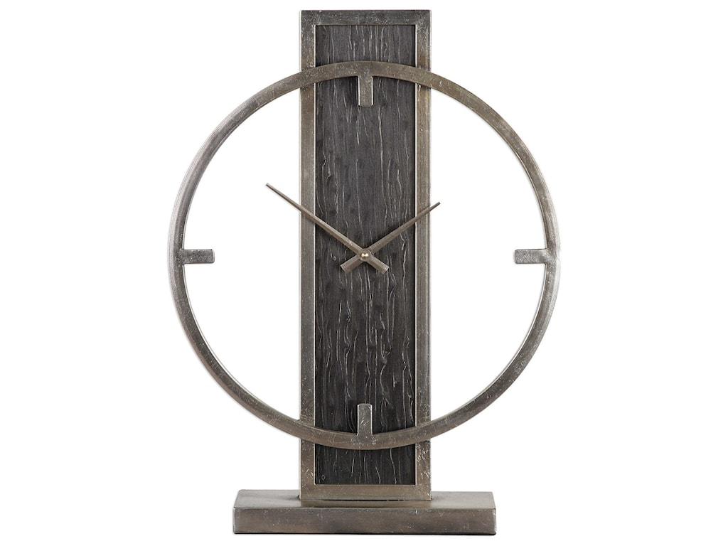 Uttermost ClocksNico Modern Desk Clock