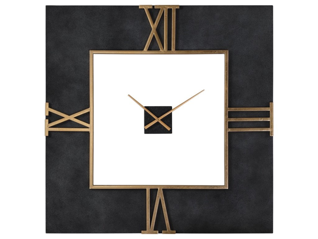 Uttermost ClocksUttermost Mudita Square Wall Clock