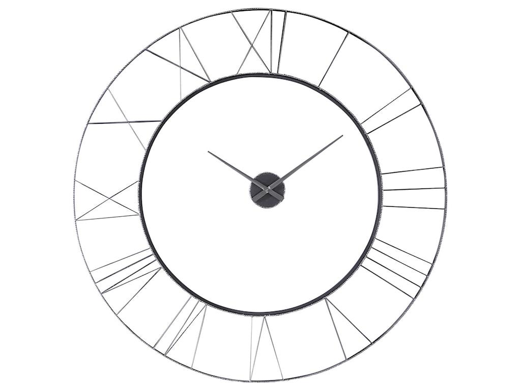 Uttermost ClocksCarroway Art Deco Wall Clock