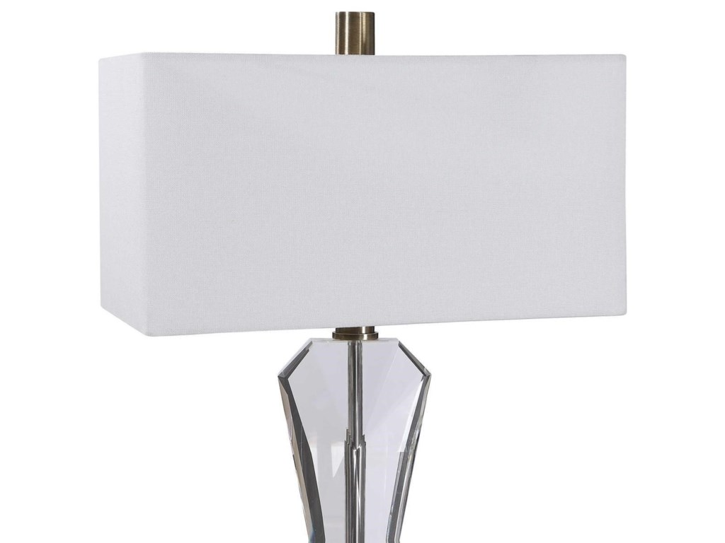 Uttermost Floor LampsCora Contemporary Floor Lamp