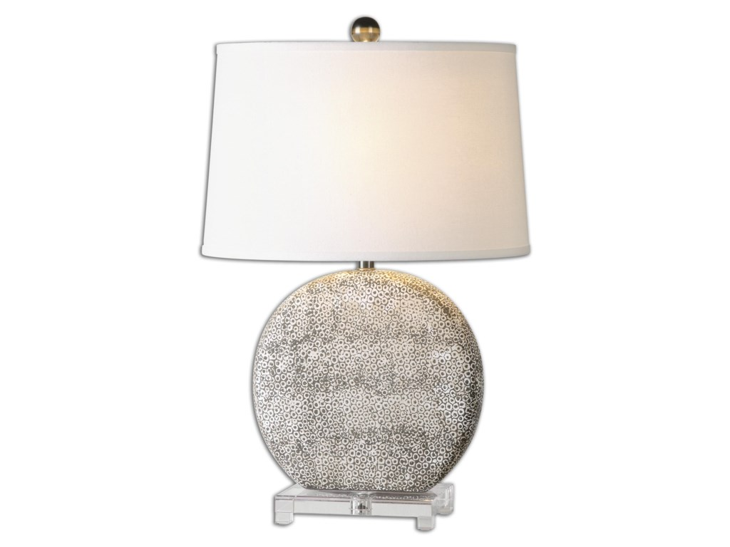 Uttermost Table LampsAlbinus White Lamp