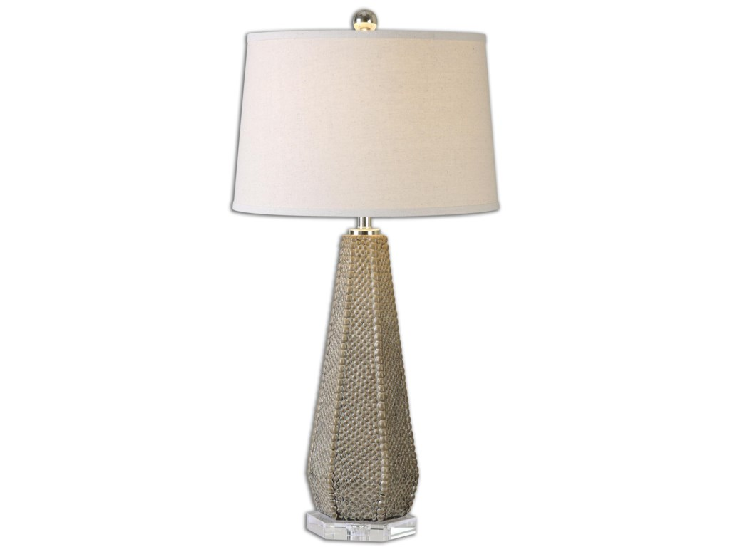 Uttermost Table LampsPontius Taupe Lamp
