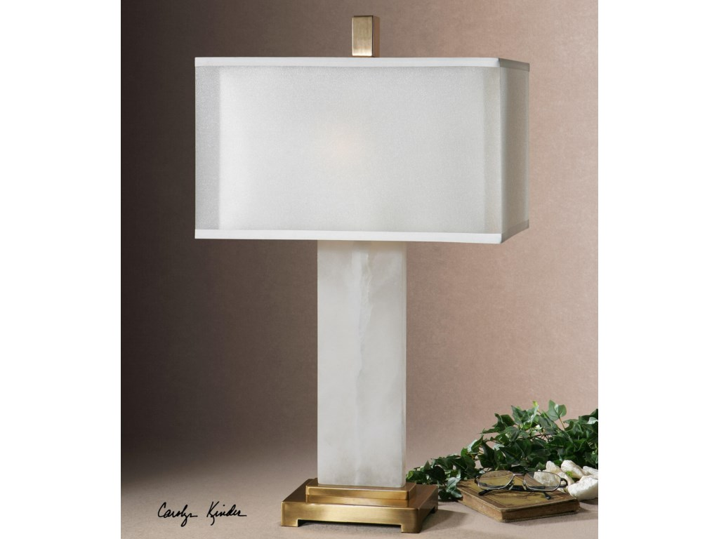 Uttermost Table LampsAthanas alabaster Lamp