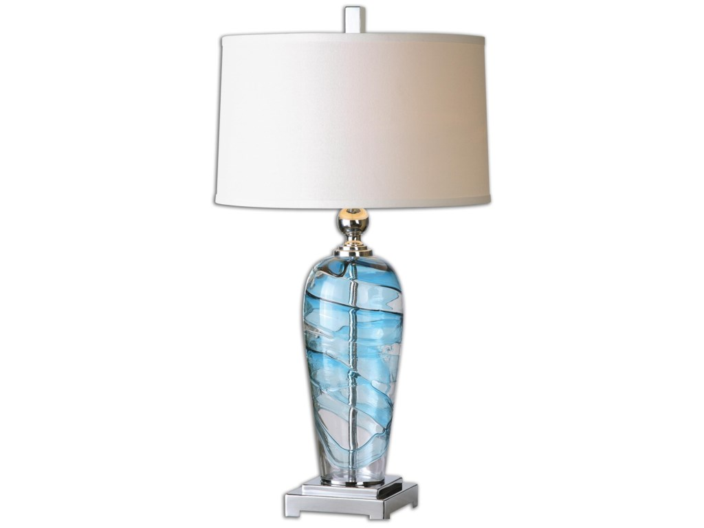 Uttermost Table LampsAndreas Blown Glass Lamp