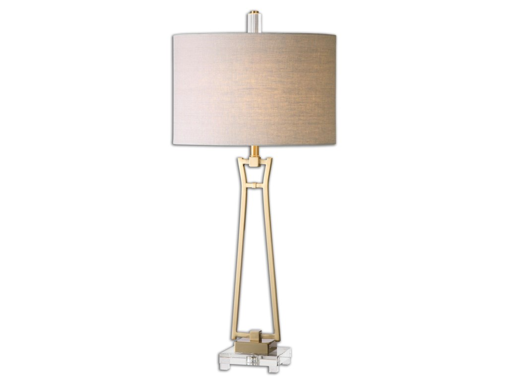 Uttermost Table LampsLeonidas Gold Table Lamp