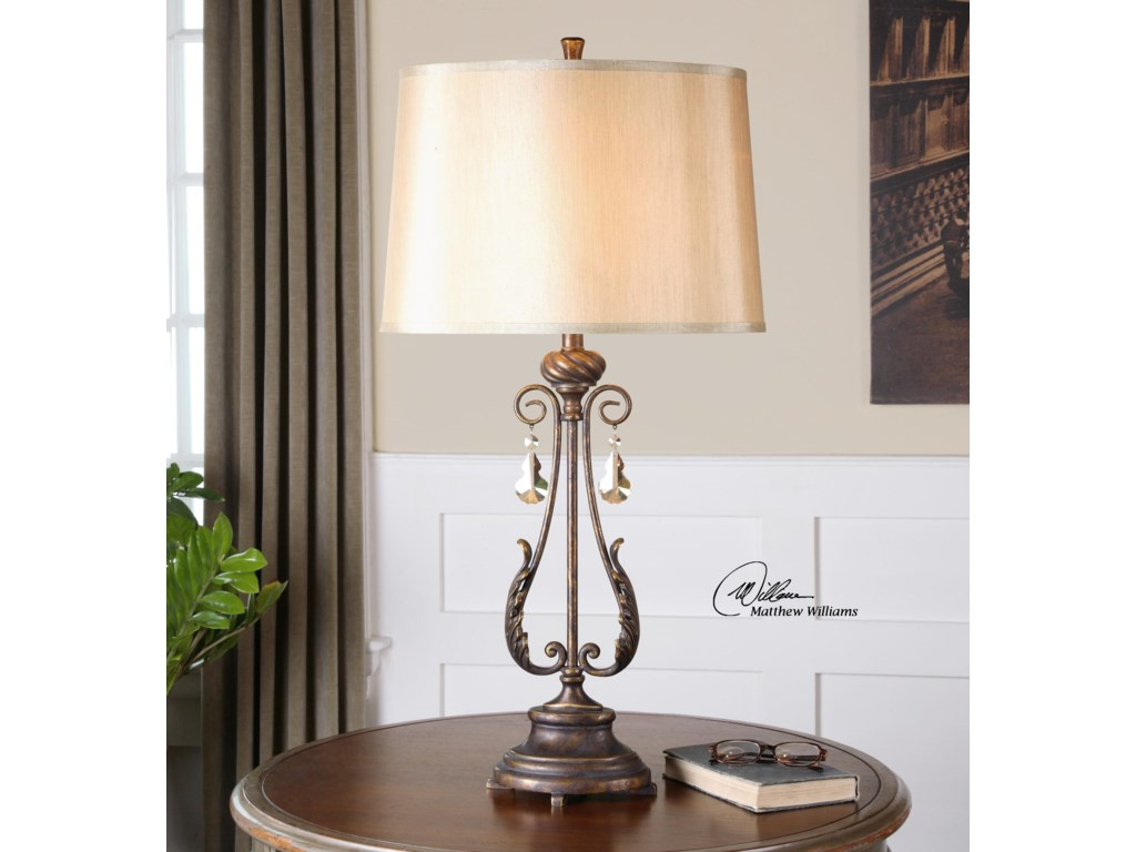 Uttermost Table LampsCassia Oil Rubbed Bronze Table Lamp