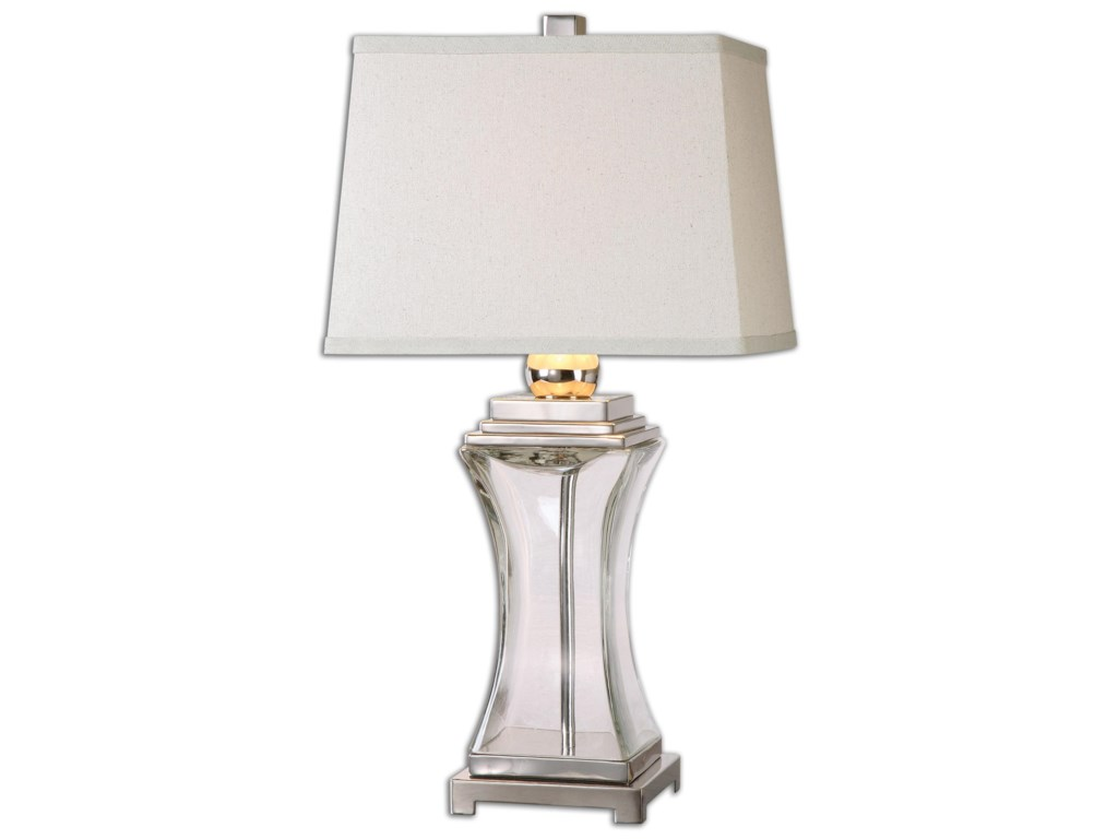 Uttermost Table LampsFulco Glass Table Lamp