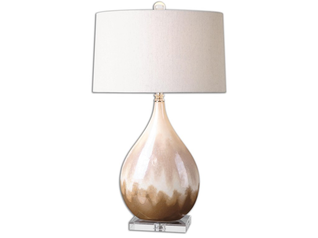 Uttermost Table LampsFlavian Glazed Ceramic Lamp