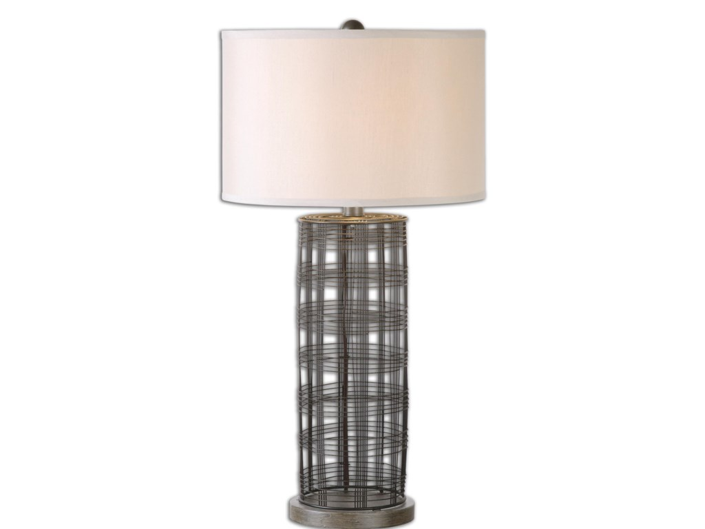 Uttermost Table LampsEngel Metal Wire Lamp