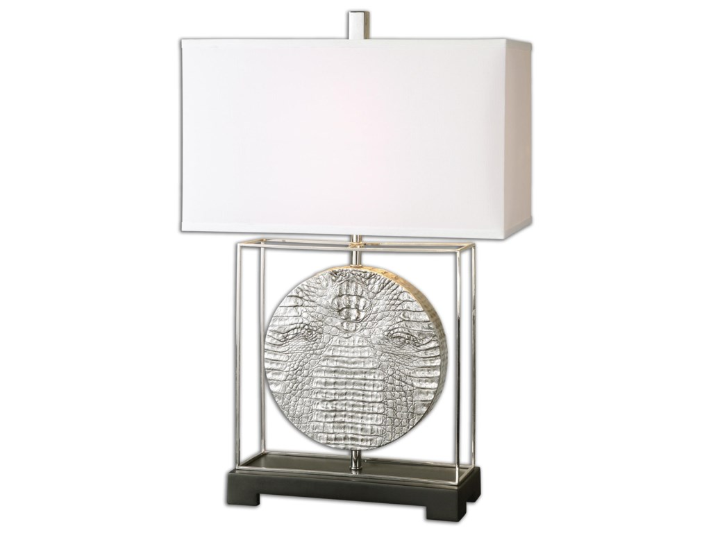 Uttermost Table LampsTaratoare Polished Nickel Lamp