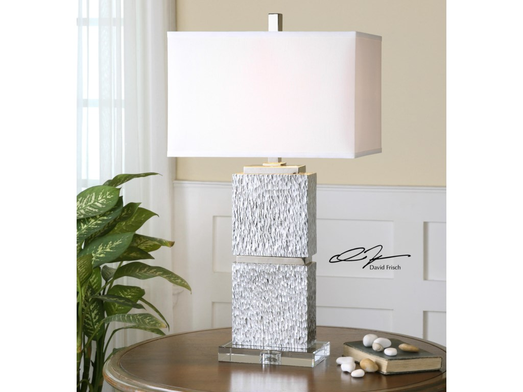 Uttermost Table LampsEumelia Silver Table Lamp