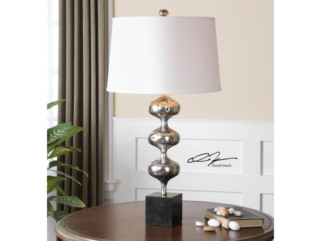Uttermost Table LampsCloelia Polished Silver Lamp