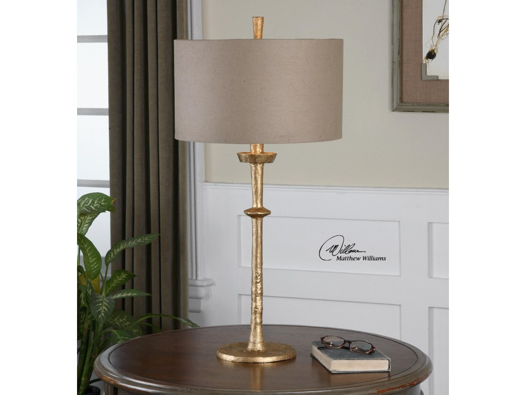 Uttermost Table LampsHeraclius Gold Table Lamp