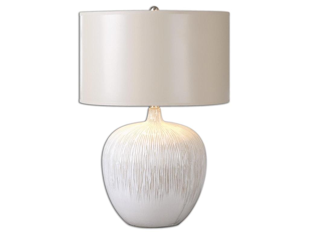 Uttermost Table LampsGeorgios Textured Ceramic Lamp