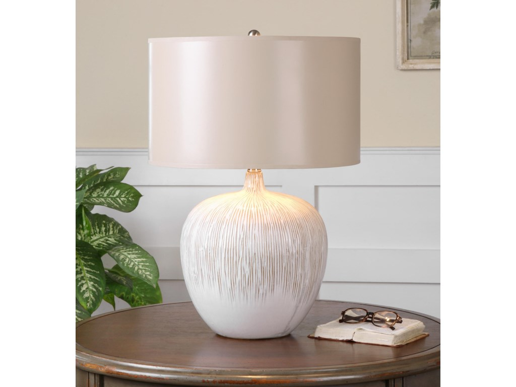 Uttermost Table LampsGeorgios Textured Ceramic Lamp