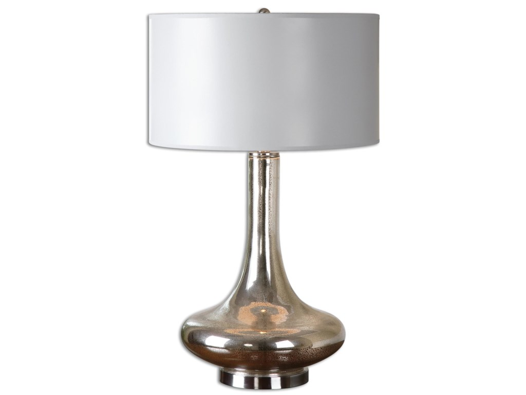 Uttermost Table LampsFabricius Mercury Glass Lamp