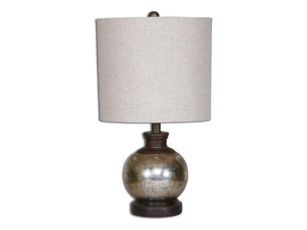 Uttermost Table LampsArago Antique Glass Table Lamp