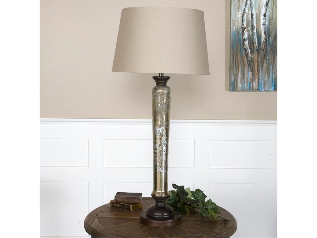 Uttermost Buffet LampsCassini Mercury Glass Buffet Lamp