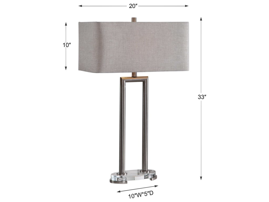 Uttermost Table LampsConnell Modern Table Lamp