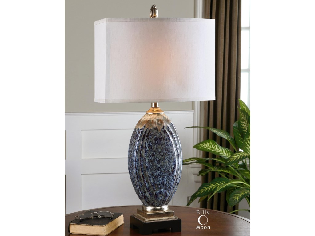 Uttermost Table LampsBlue Latah Lamp