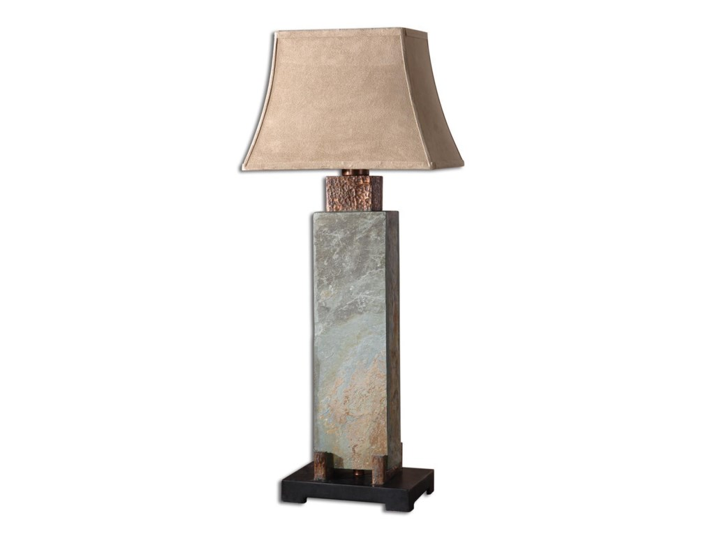 Uttermost Table LampsSlate Tall Table