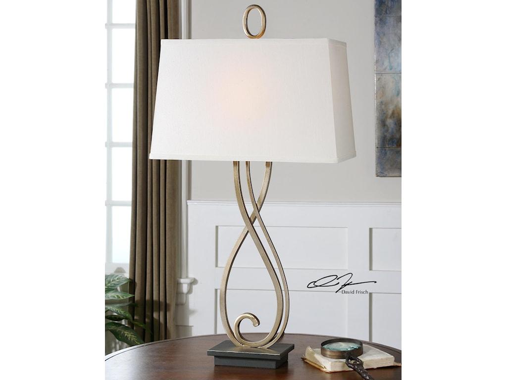 Uttermost Table LampsFerndale Scroll Metal Lamp