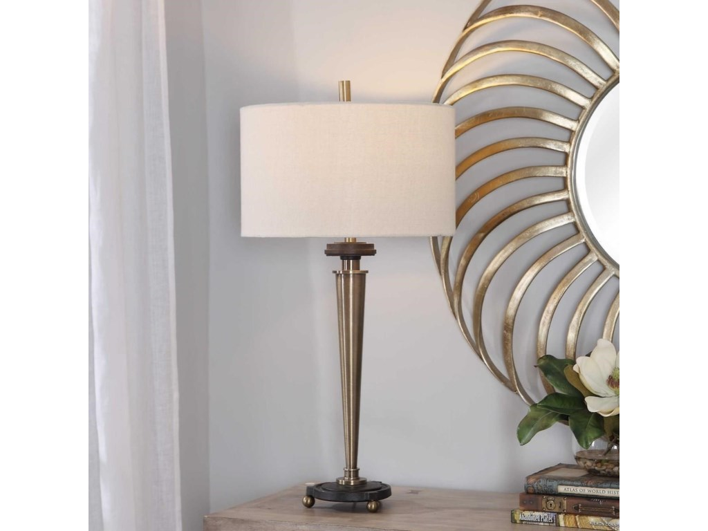 Uttermost Table LampsOsten Brass Table Lamp