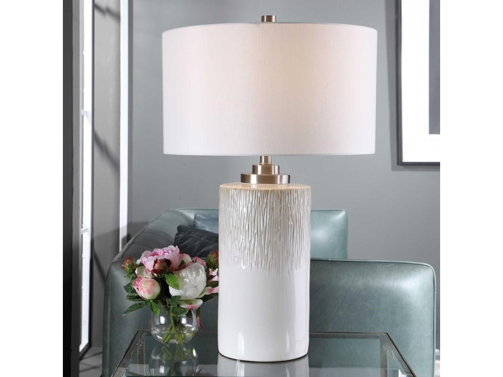 Uttermost Table LampsGeorgios Cylinder Table Lamp