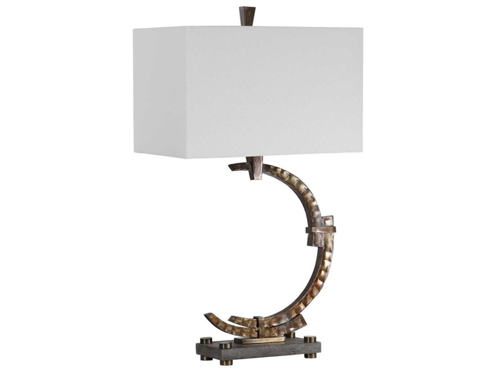 Uttermost Table LampsAtria Bronze Table Lamp