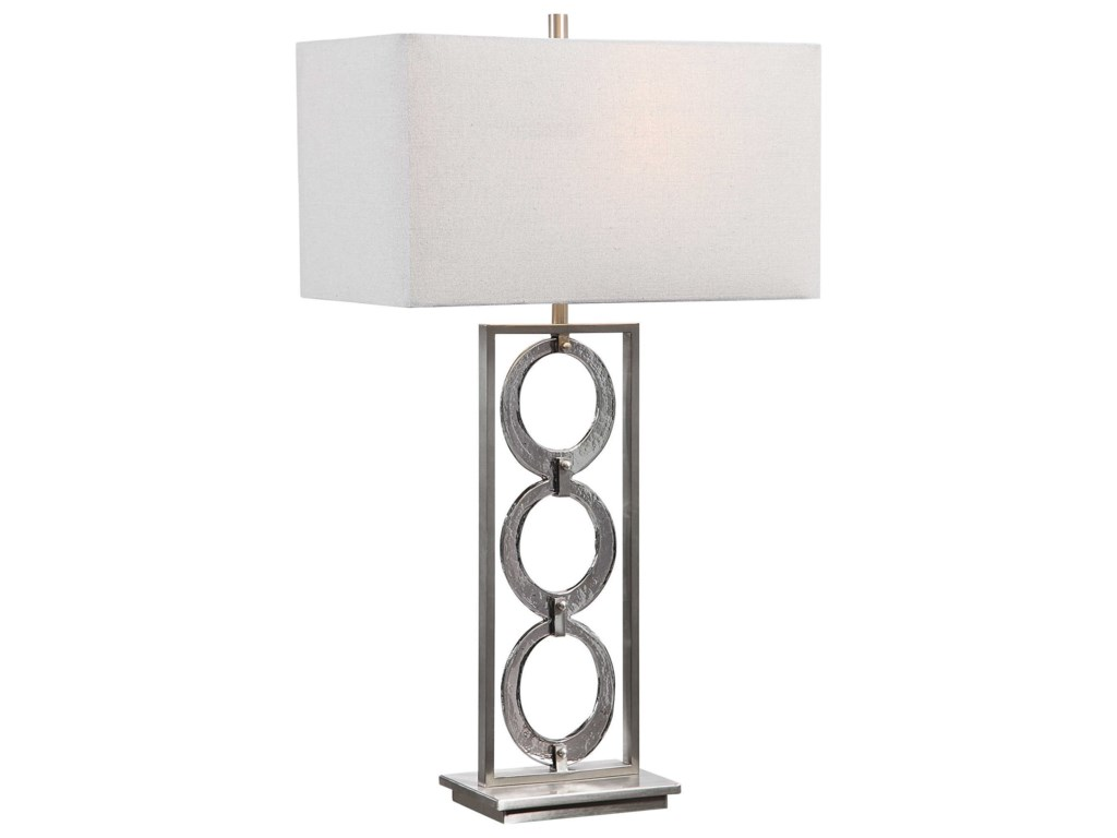Uttermost Table LampsPerrin Nickel Table Lamp