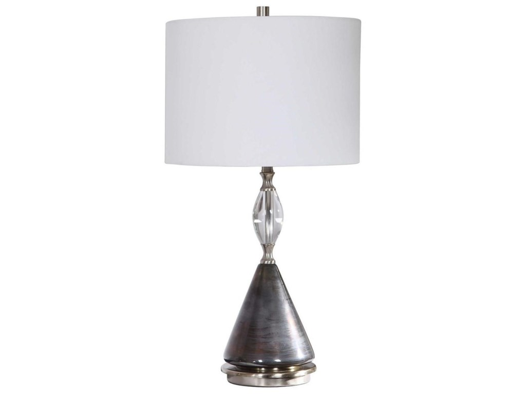 Uttermost Table LampsCavalieri Dark Bronze Table Lamp
