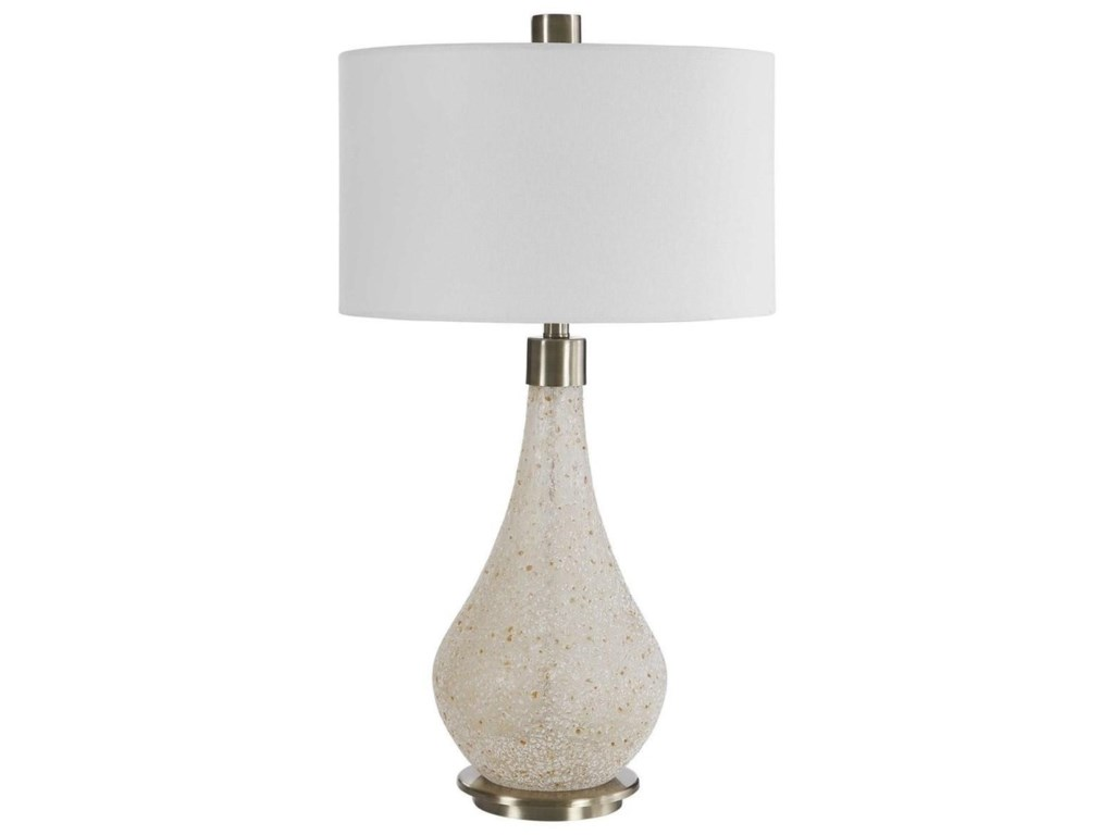 Uttermost Table LampsChaya Textured Cream Table Lamp