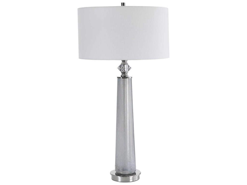 Uttermost Table LampsGrayton Frosted Art Table Lamp