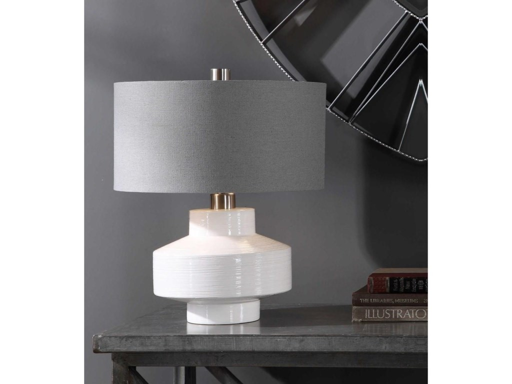 Uttermost Table LampsCrosby Mid-Century Table Lamp