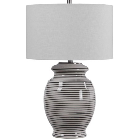 Marisa Off White Table Lamp