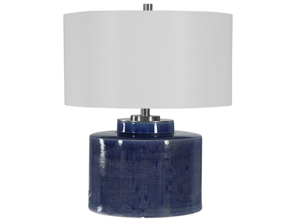 Uttermost Table LampsMonterey Blue Table Lamp