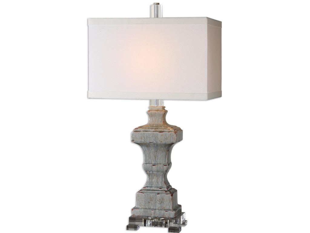 Uttermost Table LampsSan Marcello Blue Glaze Lamp