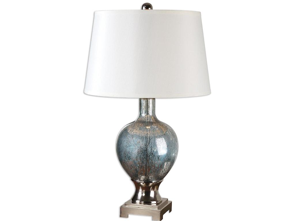 Uttermost Table LampsMafalda Mercury Glass Lamp