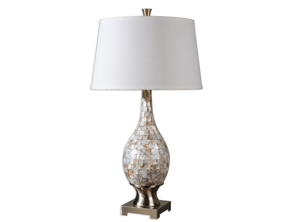 Uttermost Table LampsMadre Mosaic Tile Lamp