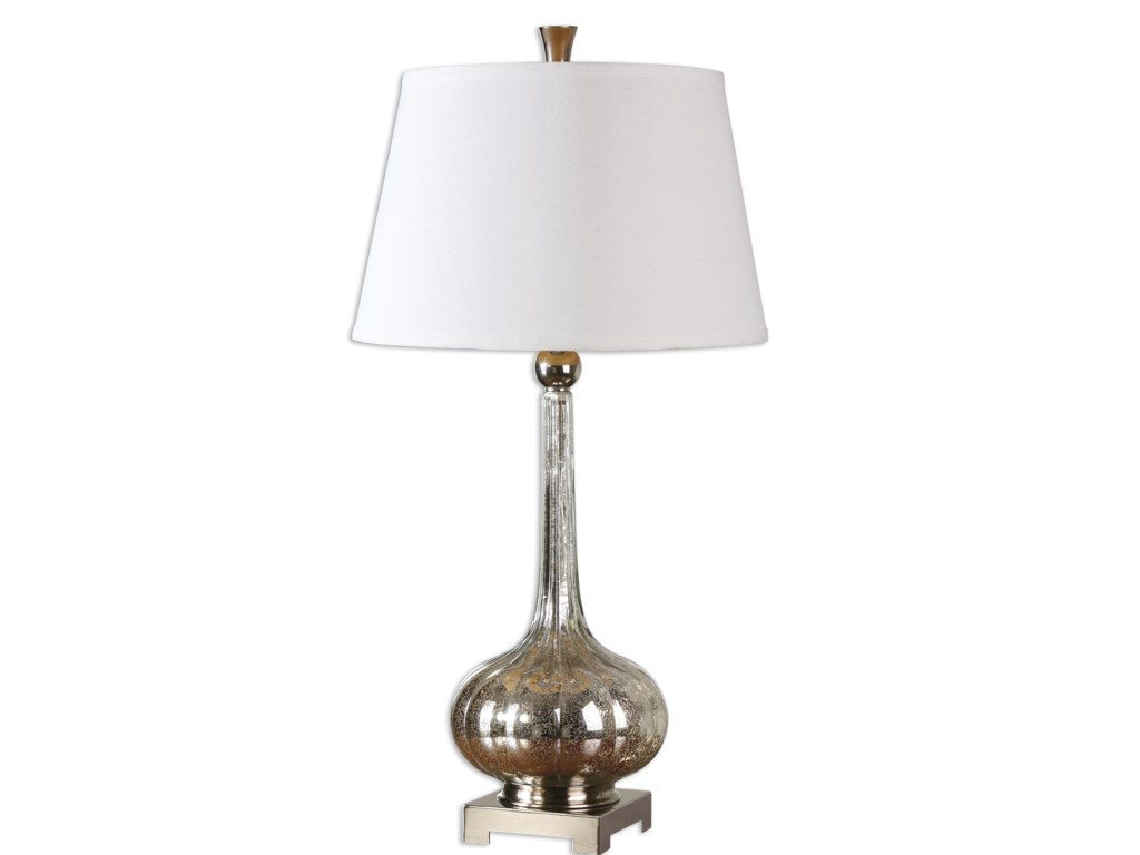Uttermost Table LampsOristano Mercury Glass Lamp