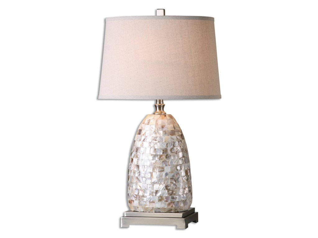 Uttermost Table LampsCapurso Capiz Shell Table Lamp