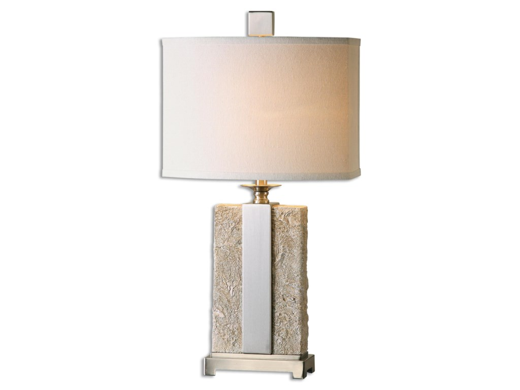 Uttermost Table LampsBonea Stone Ivory Table Lamp