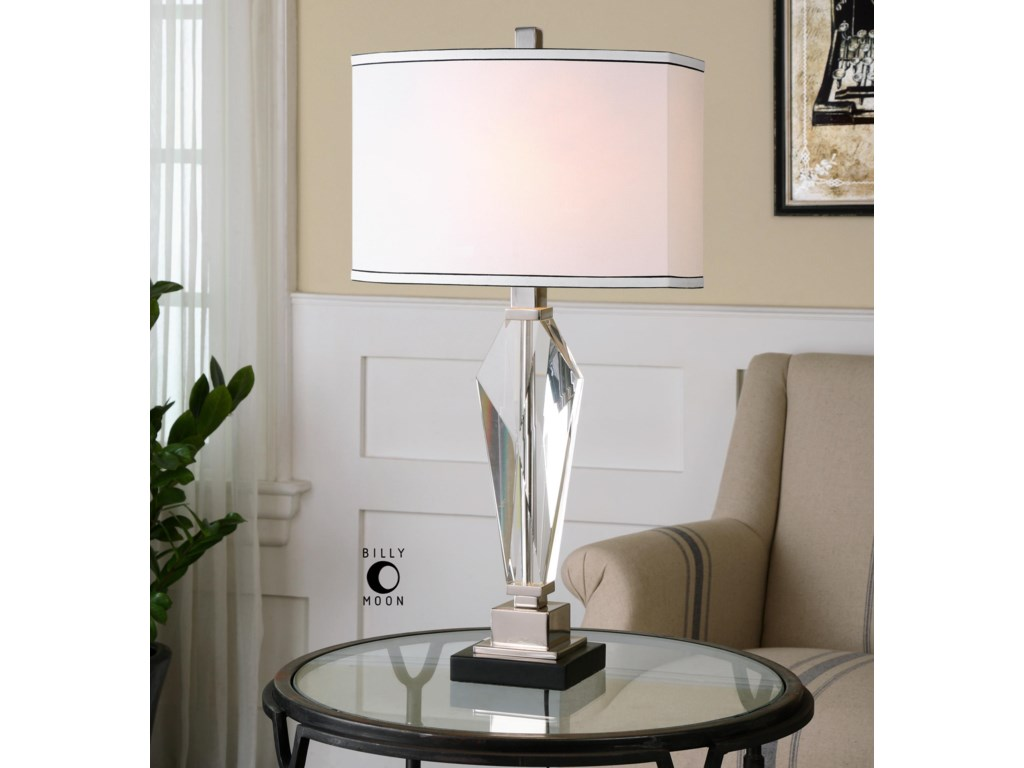 Uttermost Table LampsAltavilla Crystal Table Lamp