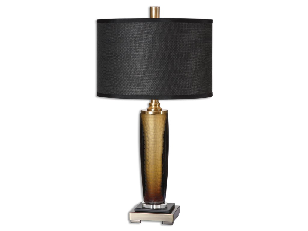 Uttermost Table LampsCircello Textured Glass Table Lamp