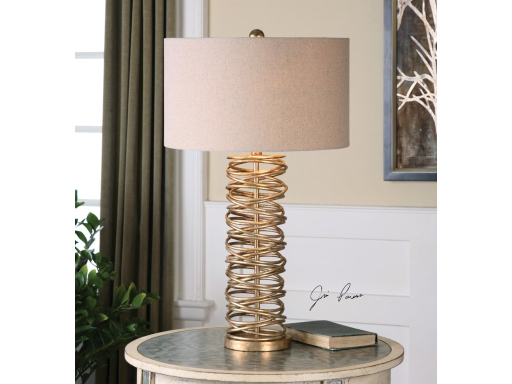 Uttermost Table LampsAmarey Metal Ring Table Lamp
