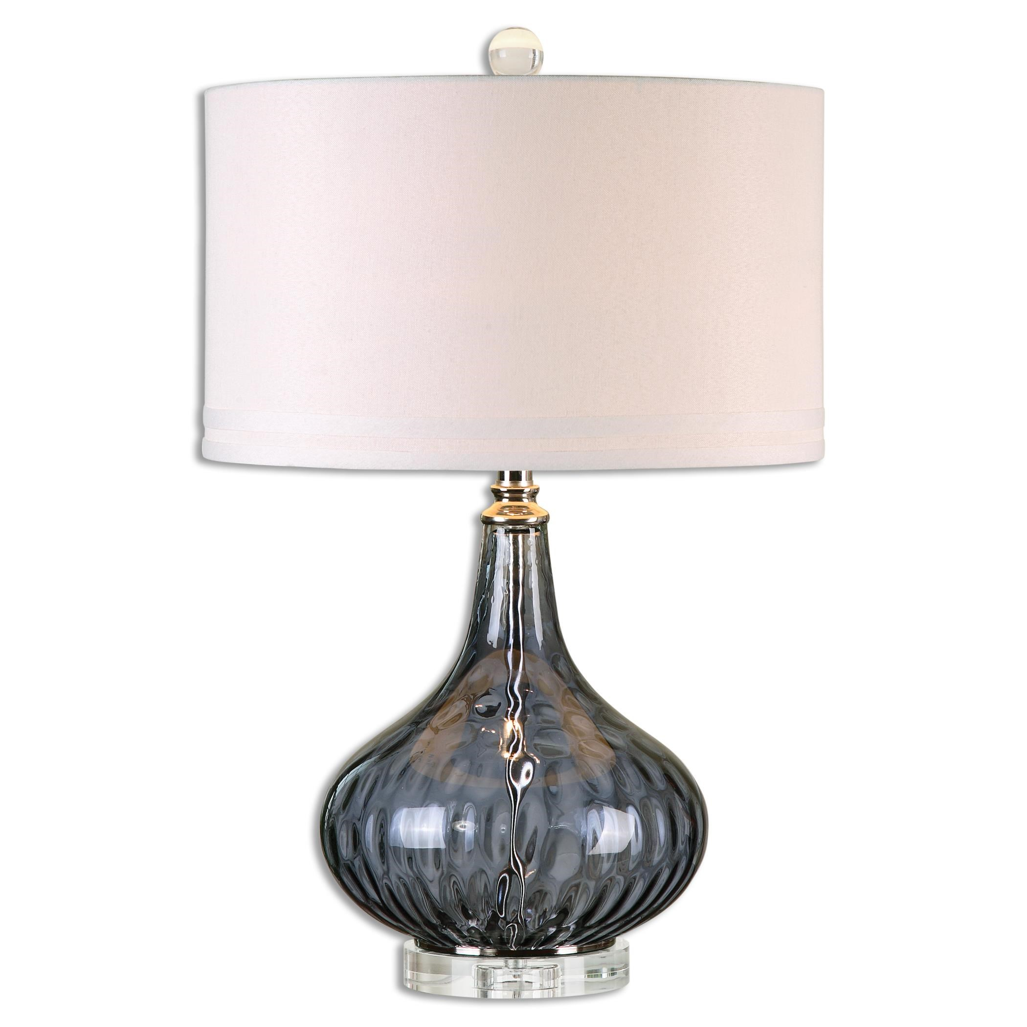 Uttermost Lamps Sutera Water Glass Table Lamp