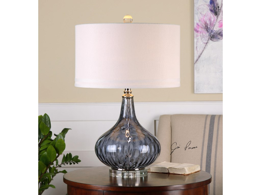 Uttermost Table LampsSutera Water Glass Table Lamp